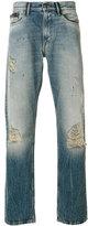 Calvin Klein Jeans stonewashed straight-leg jeans