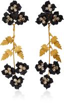 Jennifer Behr Madeline Gold-Plated Swarovski Crystal Earrings