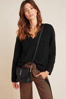 Sunday In Brooklyn Edie V-Neck Sherpa Pullover