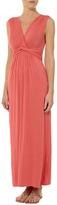 Dorothy Perkins Coral knot maxi dress