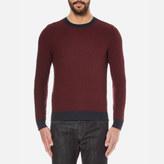 BOSS ORANGE Men's Kuvudo Textured Knitted Jumper