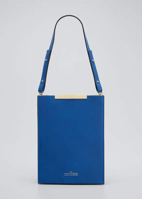 Rokh File B Leather Tote Bag