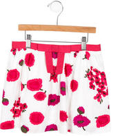 Milly Minis Girls' Mini Floral Skirt