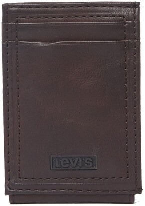 Levi's Jake RFID Leather Magnetic Bifold Wallet