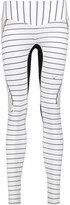 Lucas Hugh Nordica paneled striped leggings