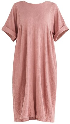 Paisie Selsey Relaxed Fit Dress In Pink