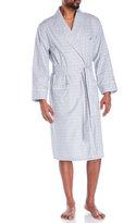 Nautica Grey Check Woven Robe