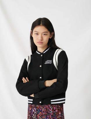 Maje Varsity-style jacket
