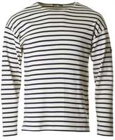 Armor Lux Long Sleeved Striped Crew Neck T-shirt