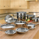 Cuisinart 17-pc. Stainless Steel Cookware Set