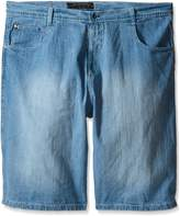 Southpole Men's Big-Tall 4180 Sand Washed Denim Short In Relaxed Fit