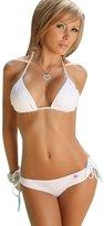Marrikey Women Casual Bikini Push-up Bandeau Bra Bandage Bathing Suit Swimwear