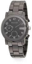 Gucci G-Chrono Collection Ceramic & Stainless Steel Watch