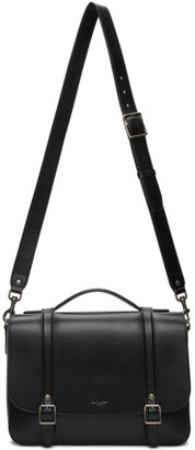 Saint Laurent Black Medium Lauren School Bag