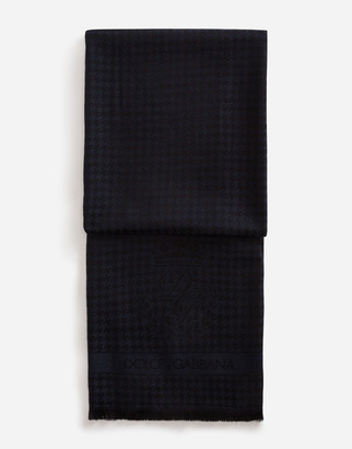 Dolce & Gabbana Scarf In Cashmere And Wool