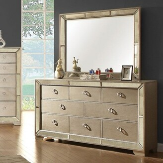 Furniture of America 8-Drawer Dresser, Champagne