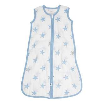 Aden Anais aden by aden + anais 1.0 TOG light sleeping bag, 100% cotton muslin, dapper6-12 months