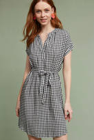 Velvet by Graham & Spencer Belted Gingham Tunic Dress