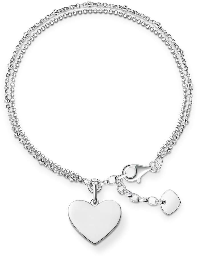 Thomas Sabo Women-Charm Pendant Soul Sisters Charm Club 925 Sterling silver 1316-001-12