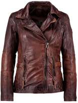 Gipsy ADVANCE LATEOV Leather jacket vintage brown