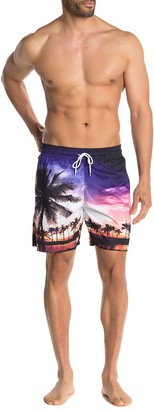 Trunks Surf And Swim Co. Tropical Photo Board Shorts