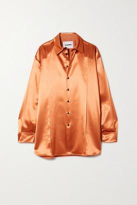 Jil Sander Satin Shirt - Peach