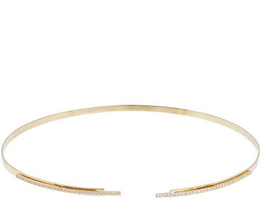 Lana Flawless 14K Gold Stacked Choker Necklace with Diamonds