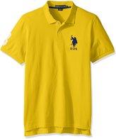 U.S. Polo Assn. Men's Standard Solid Short-Sleeve Pique Shirt