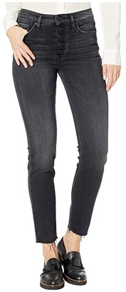 Hudson Barbara High-Rise Super Skinny with Exposed Buttons in Tease (Tease) Women's Jeans