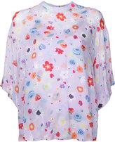 G.V.G.V. floral print blouse - women - Cupro/Rayon - 34