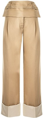 CHRISTOPHER ESBER Double Belted Cuffed Trouser