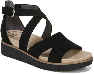 Dr. Scholl's Strappy Platform Wedges - Good Karma