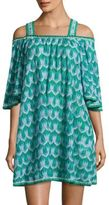 Missoni Mare Cold Shoulder Lace Cover-Up
