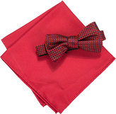 Countess Mara Men's Two Tone Dot Bow Tie & Pocket Square Set