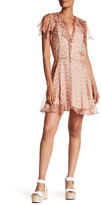 Zadig & Voltaire Roose Ruffle Floral Silk Dress