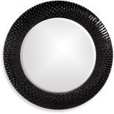Bed Bath & Beyond Howard Elliott® Bergman 32-Inch Round Wall Mirror in Black