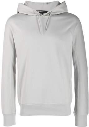 Y-3 Y 3 logo printed hoodie