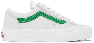 Vans Grey and Green OG Style 36 LX Sneakers