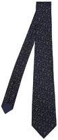 Bottega Veneta Flecked Silk-blend Tie