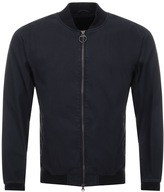 Barbour Ashton Casual Bomber Jacket Navy