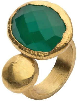 Jaipur Donatella Balsamo Jewellery Hammered Gold Ring
