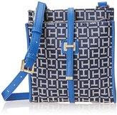 Tommy Hilfiger H Group Monogram Jacquard NS Cross Body Bag