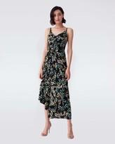 Thumbnail for your product : Diane von Furstenberg Amy Matte-Jersey Asymmetrical Slip Dress in Modern Chain
