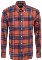 Barbour Finley Check Shirt Orange