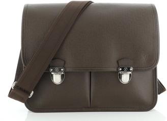 Louis Vuitton Anton Briefcase Taiga Leather