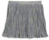 Jessica Simpson Girls 7-16 Metallic Pleated Skirt