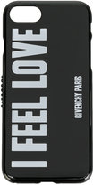 Givenchy slogan print iPhone 7 case - women - Polyurethane - One Size