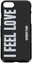 Givenchy slogan print iPhone 7 case
