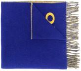 Polo Ralph Lauren logo print oversized scarf