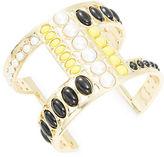 Nanette Lepore Stone Accented Open Cuff Bracelet